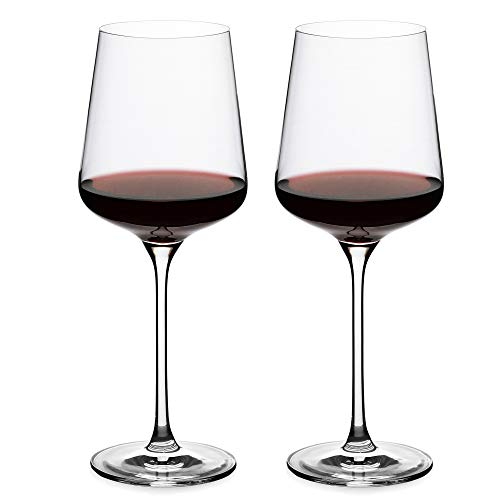 Crystal Wine Glasses,Universal Red Wine Glass set of 2,Wine Glasses 24 oz,Bordeaux Glasses, Premium Crystal Glass for White and Red Wine, Great Gift for Any Occasion