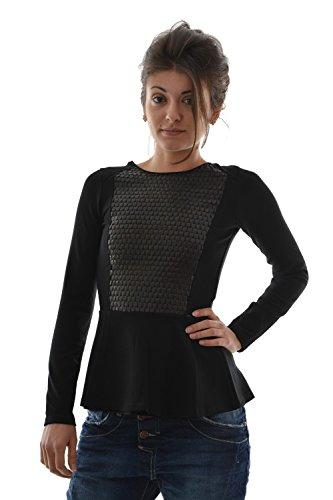 Salsa - Camiseta de manga larga - para mujer negro X-Small