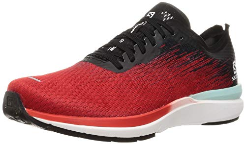 SALOMON Sonic 4 Accelerate, Zapatillas de Running Hombre, Goji Berry/White/Black, 44 2/3 EU