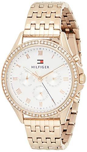 Tommy Hilfiger Reloj Analógico para Mujer de Cuarzo con Correa en Acero Inoxidable 1782143