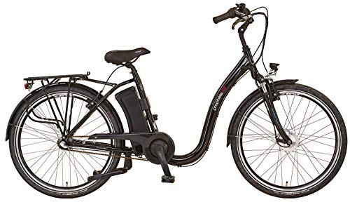 "Prophete Damen GENIESSER 20.ESC.20 City E-Bike 26\"" BLAUPUNKT VR-Motor, schwarz, RH 46"