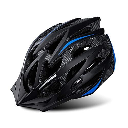 QIEP Ultraleichter Fahrrad-Sonnenschutzhelm, Abnehmbarer Sonnenschutz, geeignet für Straßen- und Mountainbike-Helme für Männer und Frauen-black2-M