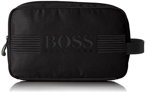BOSS Athleisure - Pixel_washbag, Organizadores de Bolso Hombre, Negro (Black 001), 9x15.5x25 cm (B x H T)