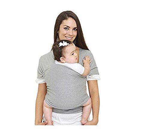 Ecloud Shop® Flexible Porte-bébé Sling Gris