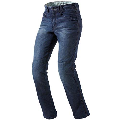 Revit Jeans Pour Moto Motard Vendome - Medium Bleu, 32W x 32L