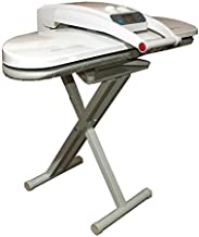 Ironing Steam Press for Dry or Steam Pressing, 1800 Watts, INCLUDES STAND! 38 Powerful Jets of Steam, 100lbs of Pressure, Includes Extra Cover+Foam ($35 Value)! (Grande Press With Stand)