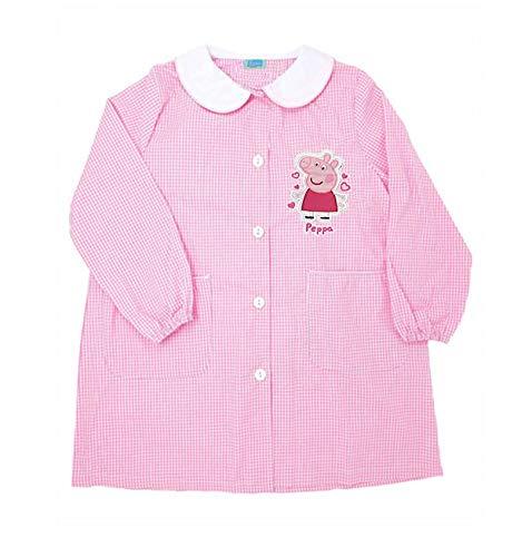 Peppa Pig grembiule rosa quadretti scuola materna art .6158 (65)