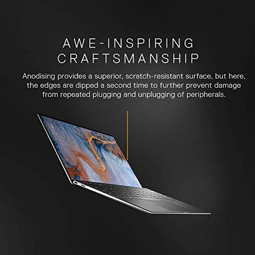DELL XPS 9300 13.3-inch (33.78 cms) FHD Laptop (10th Gen Core i5-1035G1/8GB/512GB SSD/Windows 10 Home Plus & MS Office 365- 1Yr Subscription/Intel HD Graphics), Silver