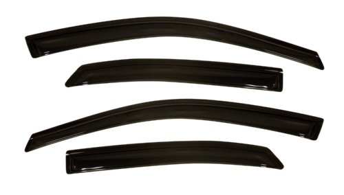 Original Ventvisor Side Window Deflector Dark Smoke, 4-Piece Set for 2010 Lexus RX350, RX450h - Auto Ventshade 94186
