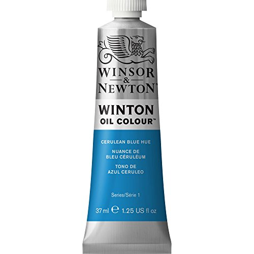 Winsor & Newton Winton - Tubo óleo, 37 ml, tono azul cerúleo