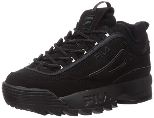 Fila Youth Disruptor II Synthetic Triple Black Entrenadores 38.5 EU