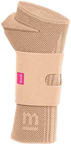 medi Manumed active - Handgelenkbandage rechts | sand | Größe II | Kompressionsbandage zur Stabilisierung des Handgelenks