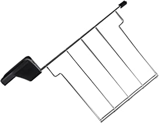 UPKOCH Grille En Acier Inoxydable Rack Sandwich Rack pour Grille- Pain Sandwich Cage Grille- Pain Pain Accessoire Rack Rac...
