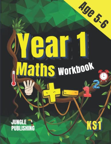 Year 1 Maths Workbook: Addition and Subtraction Practice Book for 5 - 6...