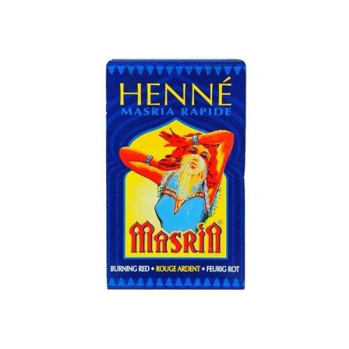 Hennedrog Lot de 20 sachets de henné rouge feu.