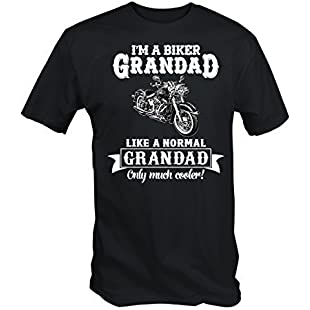 Biker Grandad T Shirt (Medium)