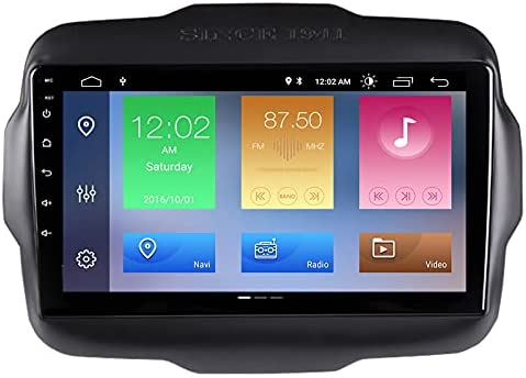 ZBARK 9″ Android 10 Car Radio Auto DSP Stereo Player for Jeep Renegade 2015 2016 2017 2018 Navigation Multimedia GPS System Backup Camera