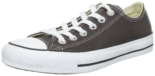 Converse Chuck Taylor All Star Leather Ox, Baskets mode mixte adulte - Marron (Marron), 45 EU