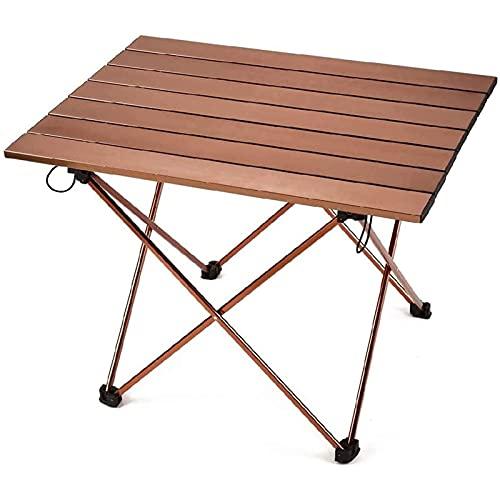 Mesa portátil barbacoa parrilla al aire libre plegable mesa de camping al aire libre portátil mini mesa de picnic ligero para playa senderismo