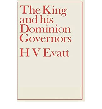 Hardcover The King and His Dominion Governors Book