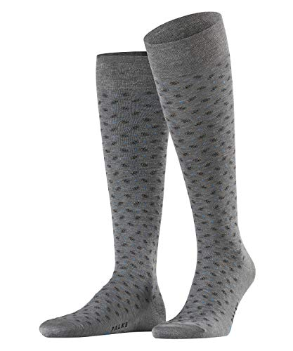 FALKE Sensitive Jabot Chaussettes montantes Homme Gris (Steel Mel. 3165) 41/42 (Taille fabricant:41-42)