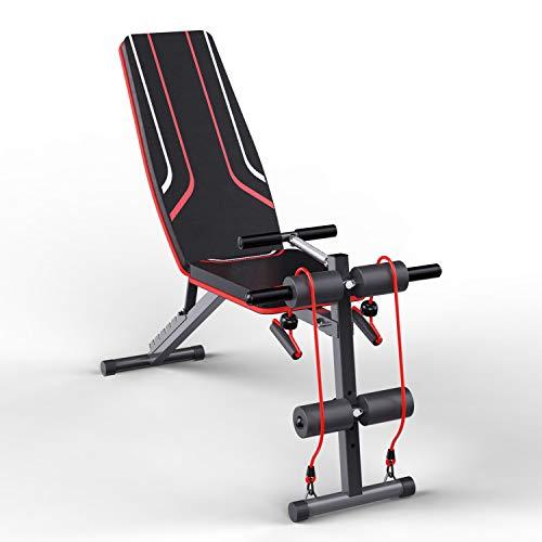 panca multifunzione,panca fitness pieghevole,panca pesi multifunzione, panca piana per l'allenamento di tutto il corpo Panca fitness per l'allenamento a casa