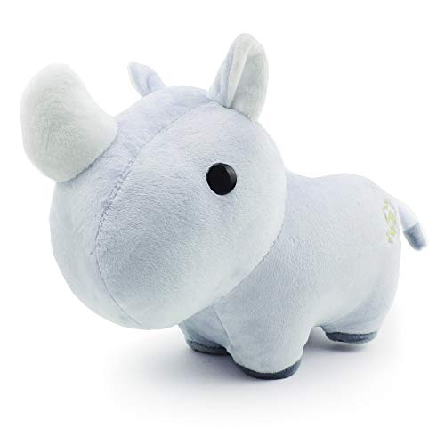 Bellzi Rhino Cute Stuffed Animal Plush Toy - Adorable Soft Rhino Toy Plushies and Gifts - Perfect Present for Kids, Babies, Toddlers - Rhini