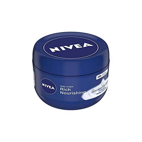 NIVEA Body Cream, Rich Nourishing, For Normal to Dry Skin, 250ml