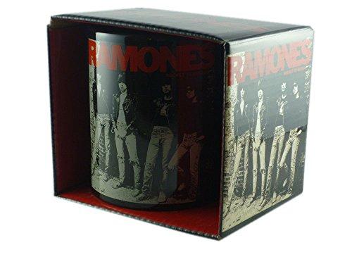 The Ramones - taza de cerámica de diseño de taza de - Rocket To Russia - se envía en una caja de regalo!