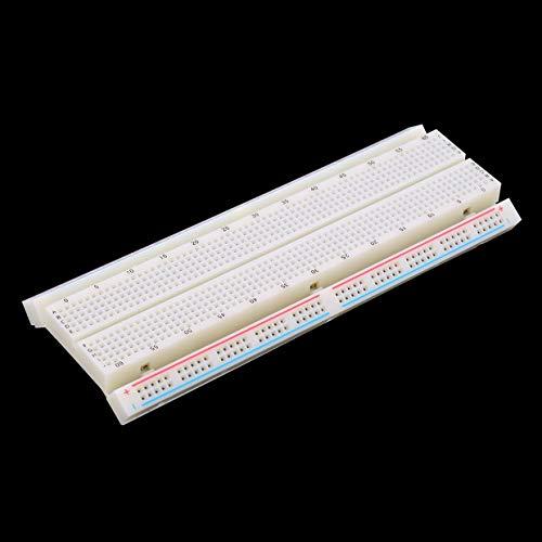YUIO MB-102 protoboard sin soldadura 830 puntos de enlace 2 autobuses circuito de prueba mini universal de prueba de protoboard placa de circuito