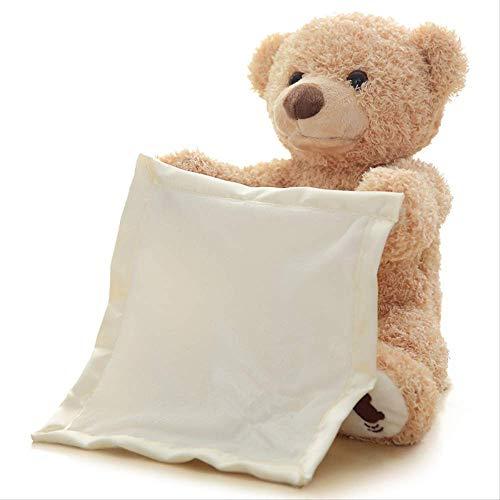 YYW Kinder Soft Toy Bär Plüsch Spielzeug Puppe mit Sprechen Und Shy-Spielzeug Für Kinder, Taufe, Geburtstag