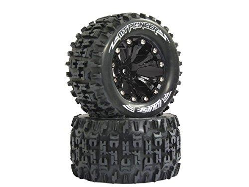 Jamara 052854 - Reifen, Felgen 1:10MT-Pioneer 1/2OS, 12 mm