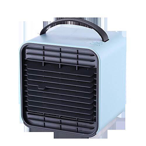 Mini Desktop Air Conditioner Air Desktop Desktop Air Conditioner Desktop Air Conditioner Air Desktop Air Bright Air Purificatore d'aria-blu