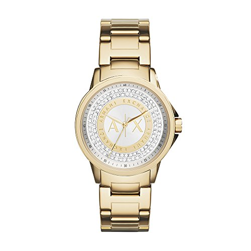 Reloj Armani Exchange Classic para Mujer 35mm, pulsera de Acero Inoxidable