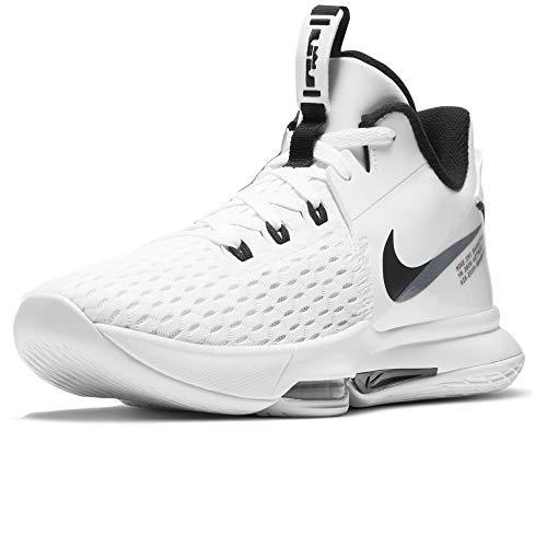 Nike Lebron Witness 5 - Zapatillas de baloncesto unisex para adulto Blanco Size: 48.5 EU