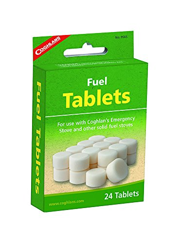 Coghlan's Fuel Stove Tablets, 24-Count