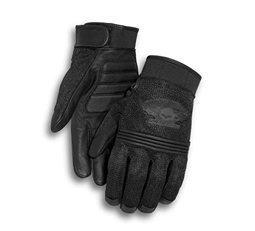 Harley Davidson Men's Winged Skull Gloves (X-Large)