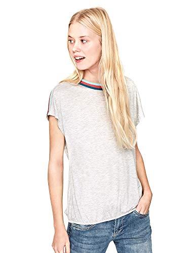 Pepe Jeans Gwen Camiseta, Gris (Grey Marl 933), X-Large para Mujer