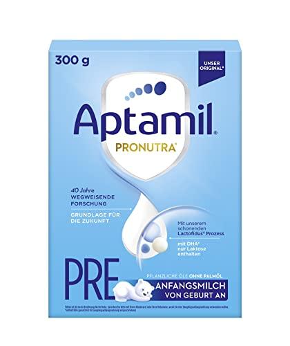 Aptamil Pronutra-ADVANCE PRE, Anfangsmilch zum Zufüttern nach dem Stillen, Baby-Milchpulver (1 x 300 g)