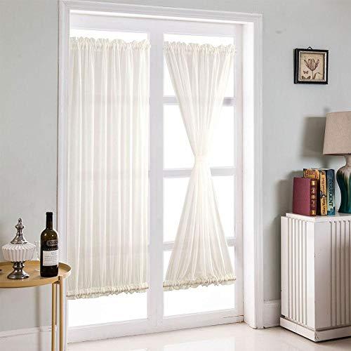 Kleine Fee Fang Vorhang Pure Color Schlafzimmer Blackout Tür Fenster Leinen Vorhänge Sonnenschirm Volants Französisch Vorhang