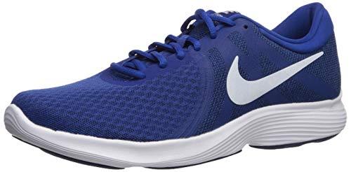 Nike Men's Revolution 4 Indigo Force/White/Blue Running Shoes-10 UK (45 EU) (11 US) (908988-403)