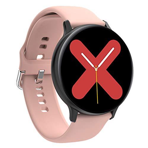 BNMY Smart Watch Fitness Tracker con Monitor De Frecuencia Cardíaca/Sueño 1.3 '' HD Smartwatch Notificación De Llamada De Mensaje Reloj Deportivo Al Aire Libre para Android iOS,A