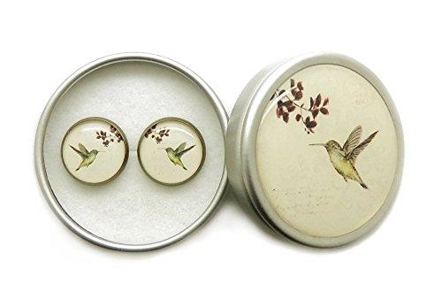 mujer pendientes vintage baratos pendientes pequeños colibrí