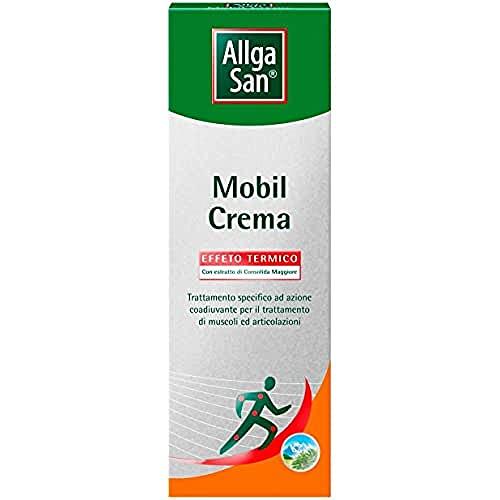 Crema massaggio schiena. Coadiuvante cervicale riscaldante, mal di schiena, dolori muscolari e dolori articolari. Mobil crema 50 ml