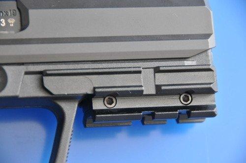 Ultimate Arms Gear Heckler & Koch HK USP Compact Pistol Handgun Mount Weaver Picatinny Rail Adapter for Scope, Sights, Lasers, Lights & Accessories