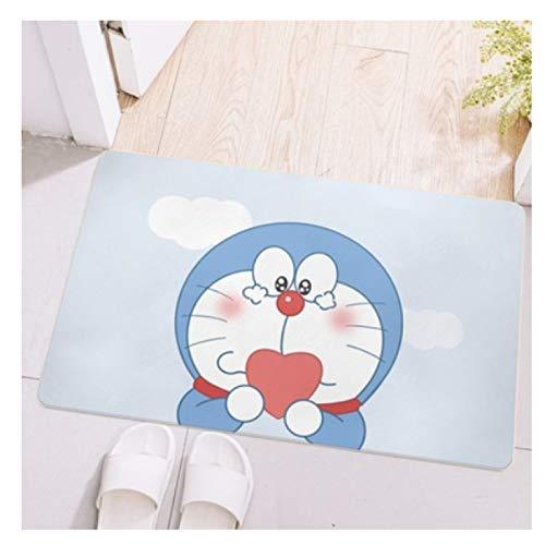 Maize store Alfombras Dormitorio Sala De Estar Dibujos Animados para Niños Doraemon Alfombra De Piso Rectángulo Juego De Niños Baño Cocina Guardería Gran Bebé Gateando Decoración del Hogar