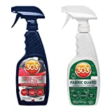 303 Convertible Fabric Top Cleaning and Care Kit - Cleans And Protects Fabric Tops - Includes 303 Tonneau Cover And Convertible Top Cleaner 16 fl. oz. + 303 Fabric Guard 16 fl. oz., (30520)