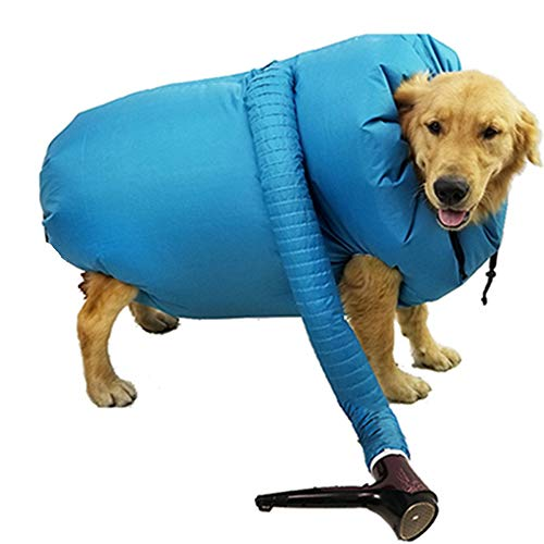 asciugatrice quick dryer Jiawawa Pet Hair Dry Bag portatile pieghevole Cucciolo Asciugatrice Gabbia Dog Drying Tool