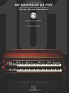 101 Hammond B3 Tips (Book/Audio)