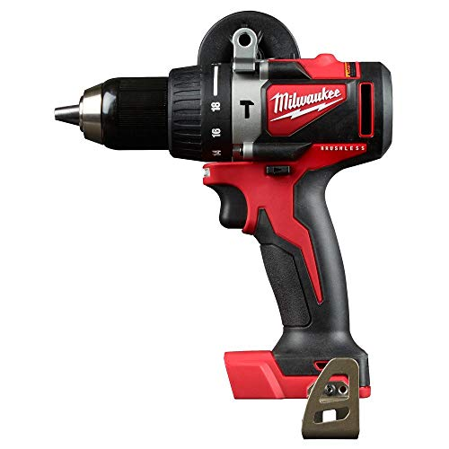 MILWAUKEE'S M18 Brushless 1/2 in. Hamme, Red